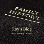Roy Lockhart's Personal Blog